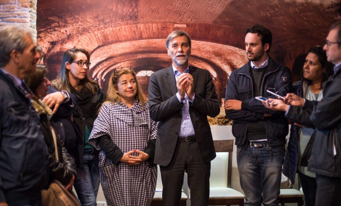 Vanessa Camani, Monica Lazzaretto, Graziano Delrio, Francesco Pozza.